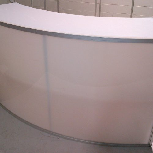 Sky Acrylic Lighted Bar Curved