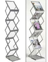 5 pocket brochure stand