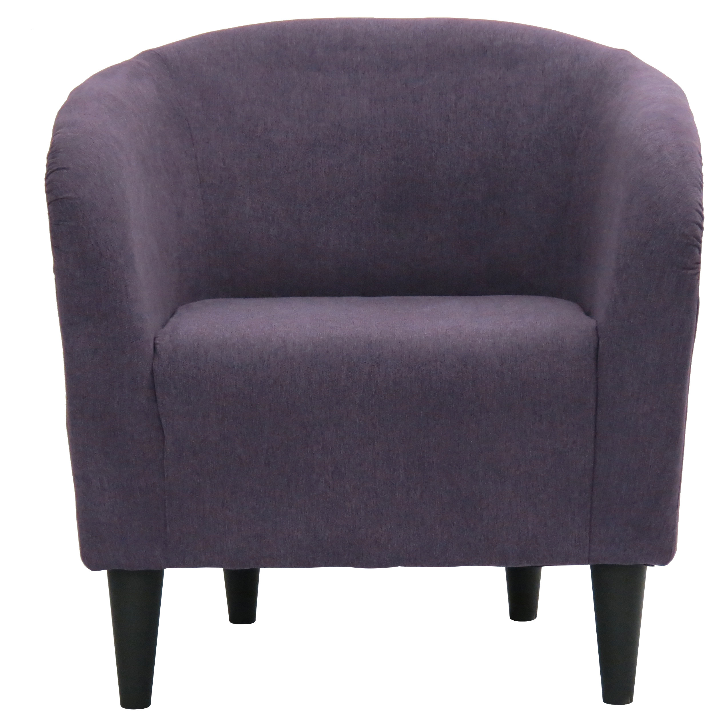 Hampton Barrel Chair - Purple