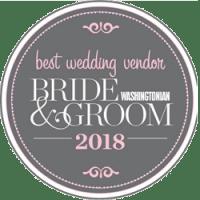 Best Wedding Vendor Award - Bride & Groom 2018