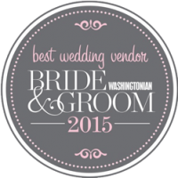 Best Wedding Vendor Award - Bride & Groom 2015