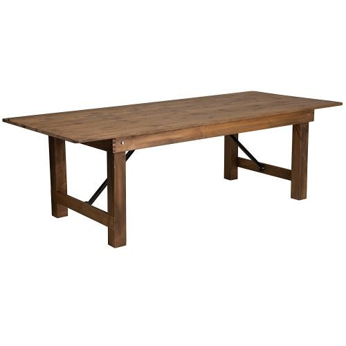 Rustic Solid Pine Farm Table